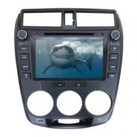 Buy cheap Wholesale double din car dvd cd media system for Honda 2014 City with TV GPS from wholesalers