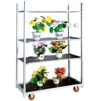 Buy cheap Flower Plant Vegetable display steel trolly cart from wholesalers
