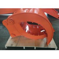 Buy cheap Hitachi ZX250 Demolition Grapple For Excavator Quick Hitch Joint 1070 Kg Self Weight from wholesalers