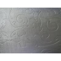 Buy cheap Embossed Leather Fabric Upholstery Material Soft Handfeeling Good Elastic Strenghth from wholesalers