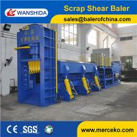 Buy cheap Hydraulic Baler Shear For Scrap Metal Car Bodies Shell Waste Pipes 630Ton Cutting Force Y83Q-6300C from wholesalers