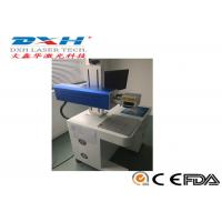 Buy cheap Compact Cable Laser Marking Machine , Leather / Fabric Laser Marking Machine 1064nm from wholesalers
