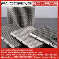 Buy cheap 304Stainless steel grating entrance mat stainless steel floor grating non slip scrape dust drain water for entrance area from wholesalers