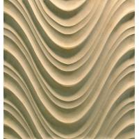 Buy cheap 3D Cnc Artificial Stone Wave Panel from wholesalers