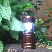 Buy cheap Popular folding 6 led solar camping lanterns/Led solar camping lamp,Led solar tent lights from wholesalers