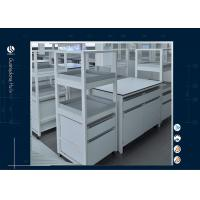 Buy cheap All Wood MDF Board Laboratory Work Benches , Hanging Type Laboratory Benches And Cabinets from wholesalers