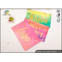 Buy cheap Custom New Design Birthday Wishes Greetings Card Colorful Handmade Paper Greeting Cards from wholesalers