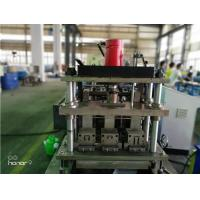Buy cheap 3 Rows Guide Rail Solar Roll Forming Machine for solar stands continues punching product