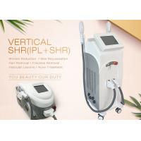 Buy cheap Salon IPL SHR Hair Removal Machine 7 Filters Two Handles For Skin Care from wholesalers