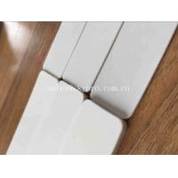 Buy cheap White Glossy Smooth Surface Stepless Speed Adjustment Food Industry PVC Flat Conveyor Belt from wholesalers