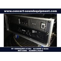 Buy cheap FP 10000Q Class TD Audio Systems for Churches , High Power from wholesalers