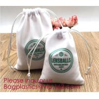 Buy cheap Soft Velvet Pouches w Drawstrings for Jewelry Gift Packaging,Drawstring Jewelry Pouches Candy Bags Wedding Favors pack from wholesalers