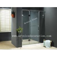 Buy cheap 6mm to 12mm tempered / toughened glass door with ISO9001, CE, Australia  AS/NZS 2208 Certificate from wholesalers