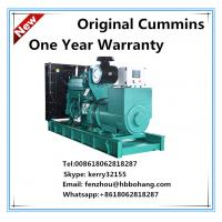 Buy cheap 340KVA diesel genset powered by Cummins engine NTA855-G2A from wholesalers