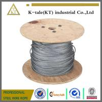 Buy cheap 6X19+FC and 6X37+FC Ungalvanized steel wire rope for Lifting Hoisting Drawing from wholesalers