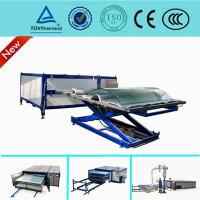Buy cheap Autoclave Free EVA  Curved Glass Laminating Machine / Automatic Laminated Glass Machine from wholesalers