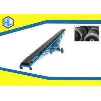 Buy cheap Long Heavy Duty Inclined Belt Conveyor Machine , Modular Powered Belt Conveyor from wholesalers