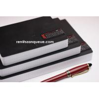 Buy cheap Custom Printed Leather Square Lined Paper Writing Notebook from wholesalers