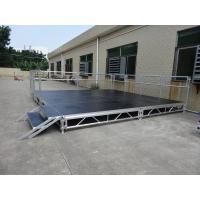 Buy cheap RK Height adjustable aluminum  stage for trade show from wholesalers