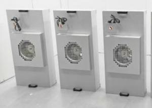 Buy cheap Galvanized Aluminum HEPA Fan Filter Unit / FFU 1175x575mm For Clean Booth product