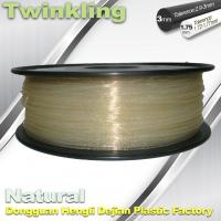 Buy cheap ±0.03 Tolerance Roundness 3d Printing Filament 1.75 3.0mm Transparent Color product