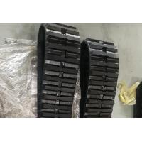 Buy cheap 80kg Excavator Rubber Tracks 280 X 72 X 56 Size Continuous With Joint Free from wholesalers