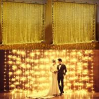 Buy cheap led curtain wedding from wholesalers