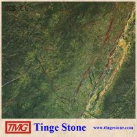 Buy cheap Indian Green Marble Rainforest Green Marble Tile For Decoration from wholesalers