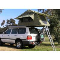 Buy cheap Fireproof 4 Person Roof Top Tent , Folding Roof Tent With Large Window from wholesalers