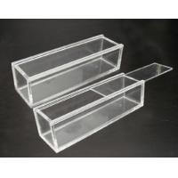 Buy cheap Customized Portable acrylic display case with lock , scratch resistance from wholesalers