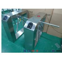 Buy cheap Pedestrian Turnstile Gate With ID/IC Reader Access Control Time Attendence from wholesalers