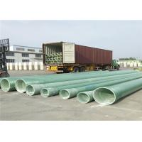 Buy cheap Fiberglass GRP Pipe for Drainage water supply lines DN300 DN400 DN500 from wholesalers