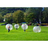 Buy cheap Clear / Blue Inflatable Bumper Ball SGS Certification Bubble Knocker Ball from wholesalers