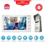 Buy cheap Morningtech 7 Inch manual Button Video Door Phone ,intercom door opening system HD doorbell from wholesalers