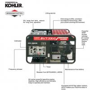 Buy cheap 16KVA Small Gasoline Powered Generator , 17KW Generator BTV3300 product