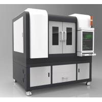 Buy cheap Small Size Precision Fiber Laser Cutting Machine Automatic Positioning 800 Watt from wholesalers