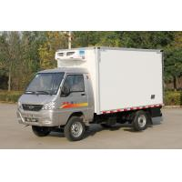 Buy cheap Small Refrigerated Truck Trailer 0.5t-1t Light Freezer Box Truck Cummins / Chaochai Engine from wholesalers