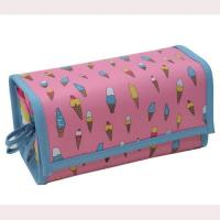 Buy cheap Large Nylon Foldable Custom Cosmetic Bags With Compartments  from wholesalers