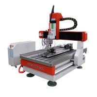 Buy cheap Desktop 4 Axis 6090 CNC Router  Engraving Machine for Wood Metal Stone from wholesalers