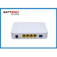 Buy cheap Plastic Optical Network Terminal ONT , 1GE + 3FE 4 Ports Optical Network Unit ONU from wholesalers