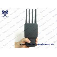 Buy cheap 8 Bands Handheld Signal Jammer WIFI LOJACK GPS Jamming Device With Nylon Case from wholesalers