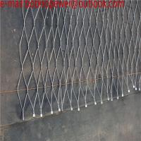 China SS wire mesh rope / bird netting / hand woven flexible stainless steel/stainless steel wire rope mesh net on sale