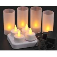 Buy cheap SPA KTV led candle ,charger candle,4pcs/set,electronic led charging candle from wholesalers