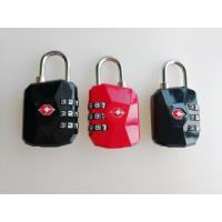 Buy cheap Luggage TSA Security Padlock , TSA Approved Combination Lock For Suitcase from wholesalers