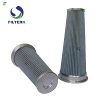 Buy cheap Pleated Vacuum Cleaner Air Filter Cartridge PTFE Material 0112311 Model from wholesalers