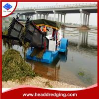 Buy cheap high performance customized aquatic weed harvester aquatic plants collecting equipment product