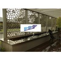 Buy cheap Art Design Perforated Metal Sheet / Decorative Perforated Sheet Metal ISO9001 from wholesalers