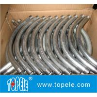 Buy cheap UL Listed 90 Degree EMT Conduit And Fittings Pre-galvanized Steel EMT Conduit Elbows from wholesalers