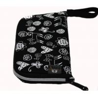 Buy cheap neoprene SBR computer mouse pad bag with wrist strap ,travel pouch mouse mat from wholesalers