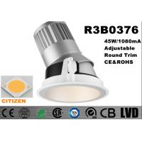 Buy cheap Long Lifespan 50000 hours LED Spot Downlights Aluminum 2700k - 3000K Cutout 175mm product